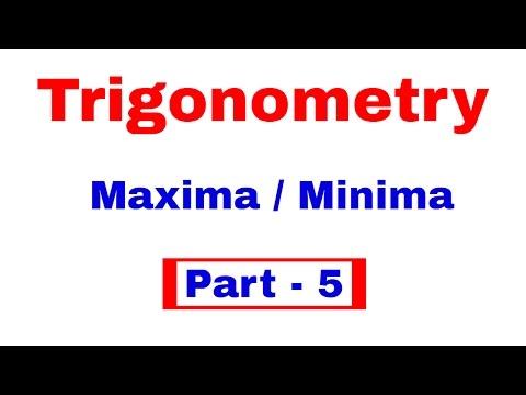 Trigonometry | Maxima and Minima case for SSC CGL | CHSL | CPO  [In Hindi] Part - 5