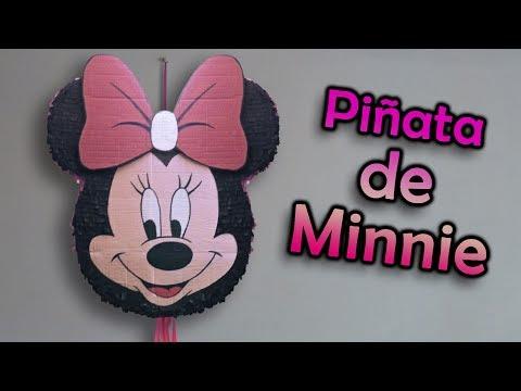 Piata de Minnie Mouse  YouTube
