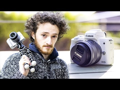 Test Canon M50 - MEILLEUR CAMERA ENTREE DE GAMME 2018 ?