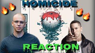 TRASH OR PASS! Logic Ft Eminem ( Homicide ) [REACTION!!]
