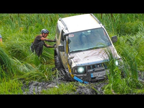 УАЗ vs SUZUKI Jimny [Off-Road 4x4]