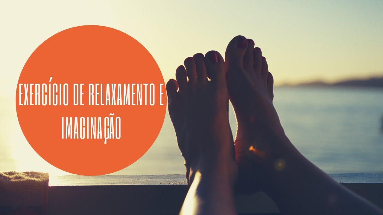 Exercício de relaxamento e imaginação
