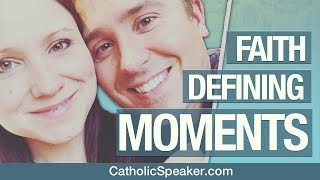 Catholic Conversions - Our Faith Defining Moments (Catholic Speakers Ken & Janelle)