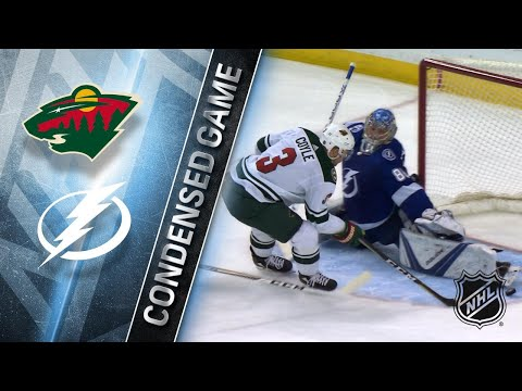 12/23/17 Condensed Game: Wild @ Lightning
