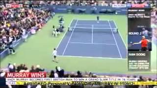 Amanda Andy Murray US Open Win