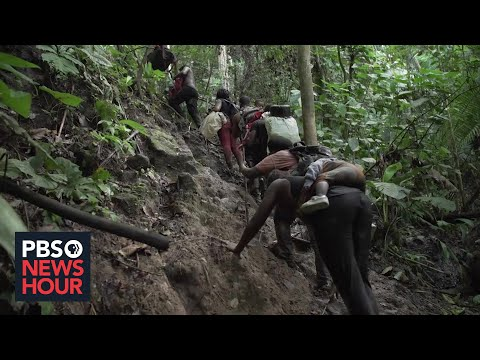 PBS NewsHour: What migrants face as they journey through the deadly Darien Gap