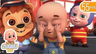 Peek a Boo Song, abc | cartoon for kids | bath song | Jugnu Kids Nursery Rhymes & baby Songs
