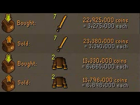 [OSRS] FLIPPING THE HIGHEST MARGIN ITEMS IN F2P - EP #2 - Flipping to 100m using F2p Items Only!