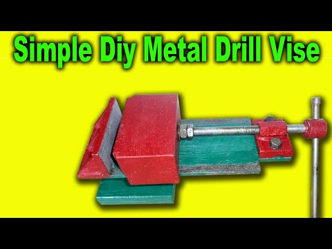 How to make Drill Press Vise