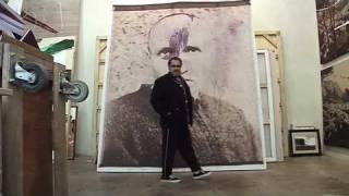 Julian Schnabel - over painted Polaroids