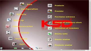 KSD Software para Restaurantes multi-idioma.