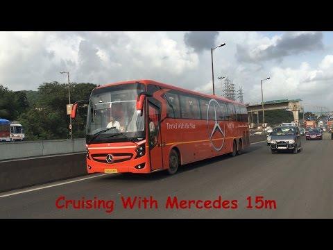 [4K] Cruising With Neeta Mercedes 15M SuperHigh Deck!!!!!!