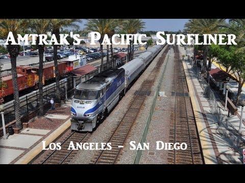 Amtrak's Pacific Surfliner - Los Angeles to San Diego