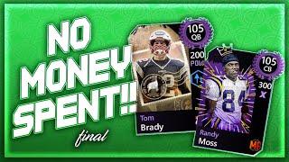 Madden Mobile 20 No Money Spent!! FOUR 105 PICKUPS!! FINAL EPISODE!