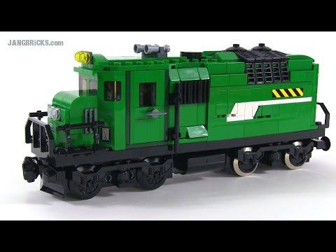 LEGO custom diesel-electric locomotive MOC