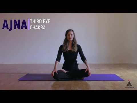 Third Eye Chakra Yoga Seven Minute Chakra Series with Nessa