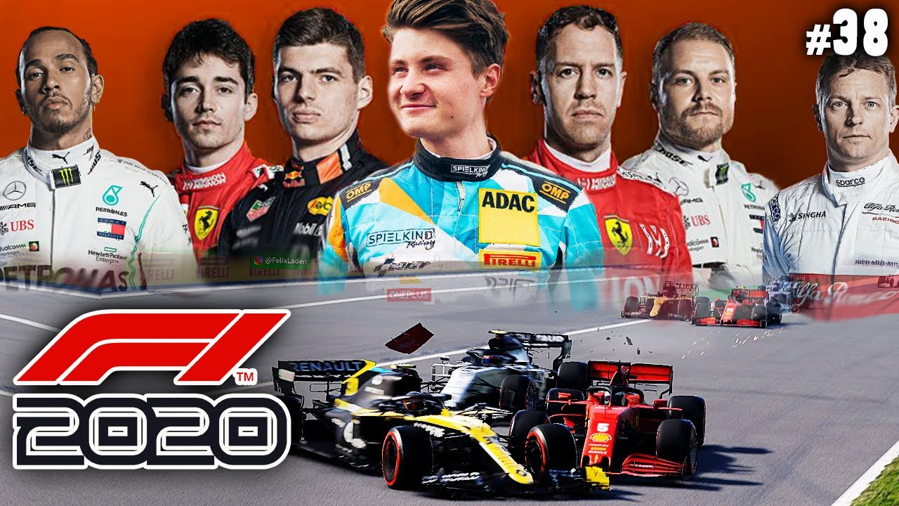 HEFTIGER EAU ROUGE UNFALL   F1 2020 #38   Spa