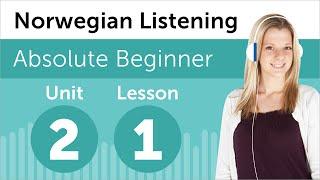 Norwegian Listening Practice - Seeing a Movie in Norway