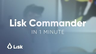 Lisk Commander in 1 Minute - a Blockchain CLI Tool