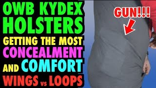 Comfort & Concealment from OWB Kydex Holsters