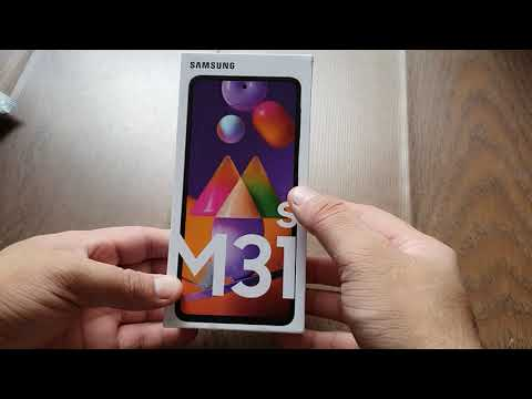 #Unboxing #SamsungGalaxy Samsung Galaxy M31 S  with 6GB and 128 GB Mirage Blue 6.5