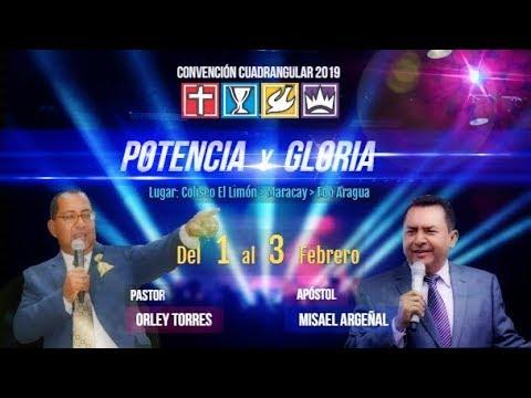 Convención Cuadrangular 2019    POTENCIA y GLORIA