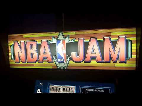 NBA JAM : Arcade1UP - Showing it off 🏀 from Video Game X-D