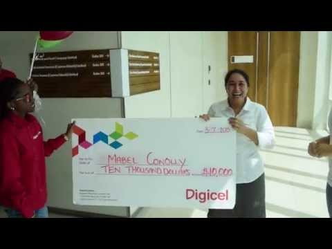 Digicel Cayman $10,000 Top Up Winner