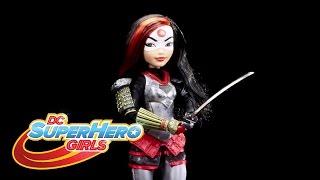 DC Super Hero Girls Katana Unboxes Herself!   DC Super Hero Girls