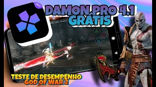 DAMON PS2 PRO 4.1 GRATIS -  GOD OF WAR 2 GAMEPLAY TESTE DE DESEMPENHO