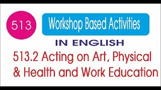 WBA 513.2 Acting on Art & Health and Work Education Complete Solution in English