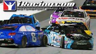 iRacing NASCAR Series at Daytona (Big Wreck)