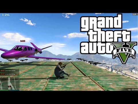 UÇAK VS SNIPER!! - GTA 5 Online Komik Anlar #2