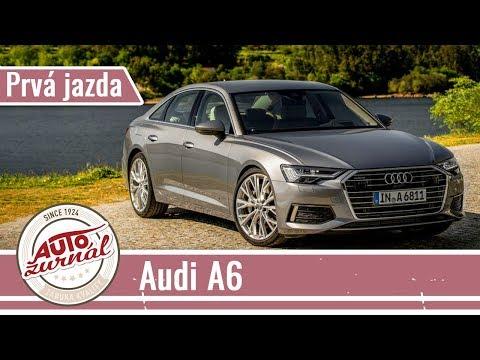 Nové Audi A6 - Prvá jazda