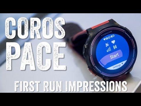 COROS Pace GPS Tri Watch First Run ($299)