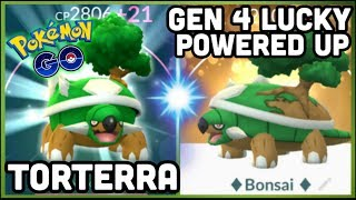 LUCKY TORTERRA MAXED OUT IN POKEMON GO | THE POWER TORTERRA IN POKEMON GO