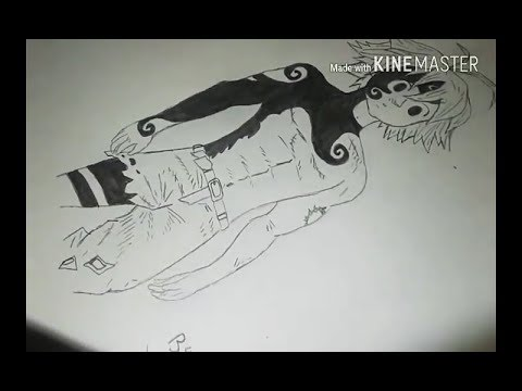 Drawing 1 Meliodas Easy Way Otaku Drawing Youtube