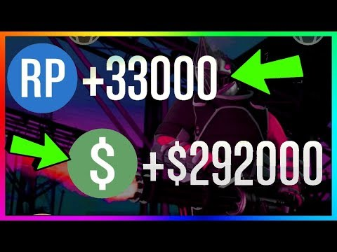 How To Make $292,000 & 33,000 RP PER GAME in GTA 5 Online | BEST New Unlimited Money Guide/Method