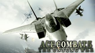 Ace Combat 5: The Unsung War. Full campaign