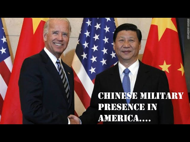 CHINESE MILITARY PRESENCE IN AMERICA...