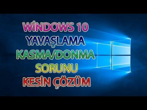 Windows 10 Sistem Hızlandırma Yavaşlama Sorunu Kesin Çözüm Nasıl Yapılır? - Nny - Nasıl Yapılır?