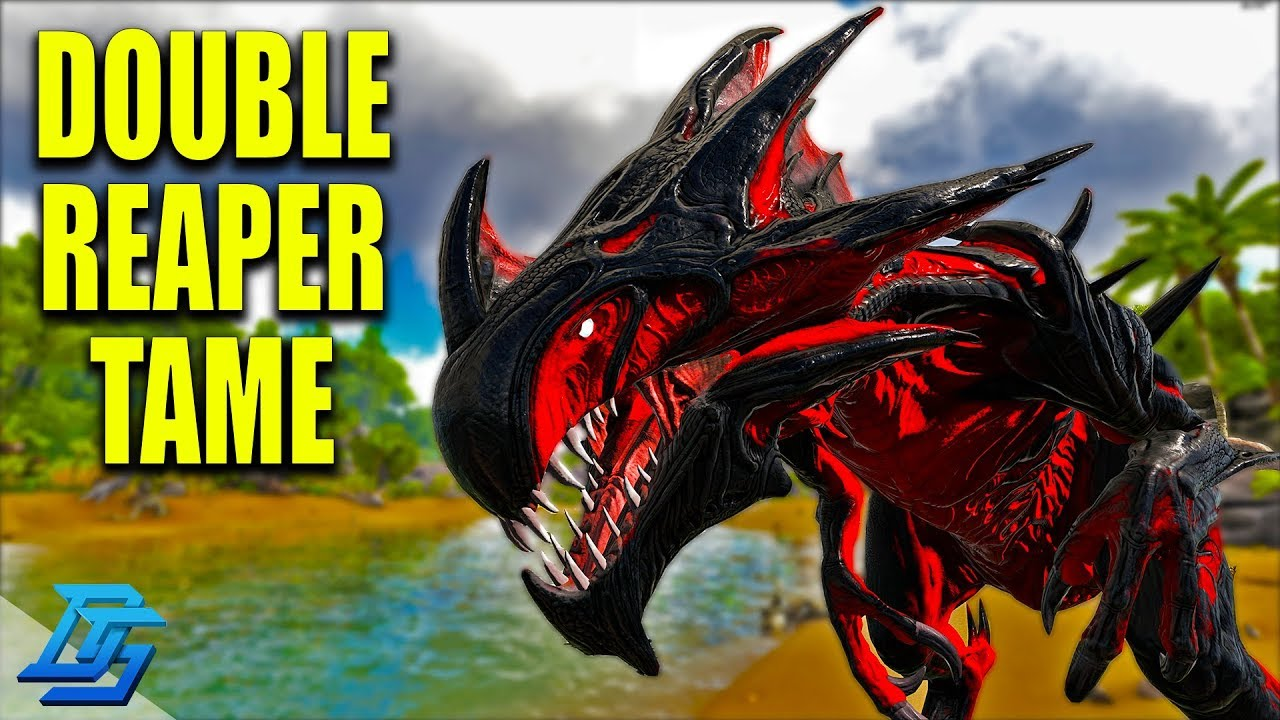 DOUBLE REAPER TAME, DREADFUL REAPER! - Ark Survival Evolved (Modded) - Gaia  Mod - Pt 24