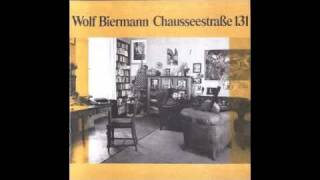 Wolf Biermann - Ballade auf den Dichter François Villon
