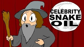 Christopher Walken Wizard - Snake Oil Animated
