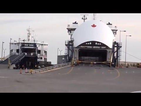 "Unloading of the NFL Ferry ""MV Holiday Island"" @ Wood Islands, PEI 06-28-11"