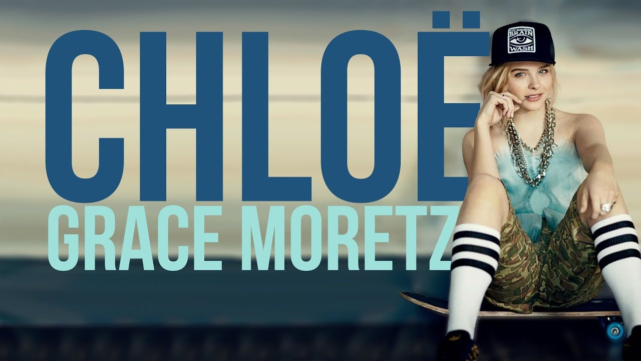 chloë grace moretz wallpaper speed art | trimbeh - youtube