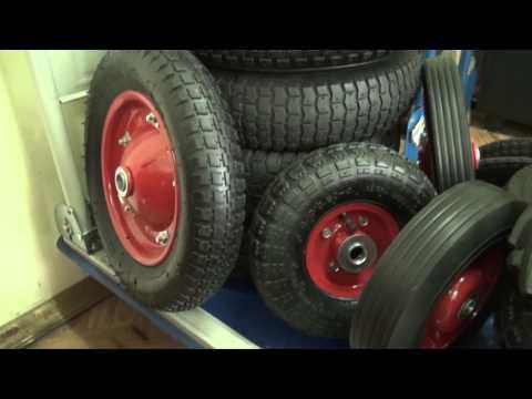 колеса для двухколесных тележек