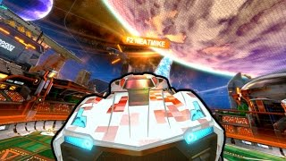 ROCKET LEAGUE IN SPACE