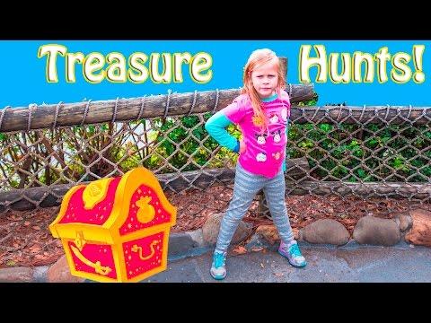 ASSISTANT Treasure Hunts Disney World and Hawaii Surprise Treasure Hunts Adventure Video