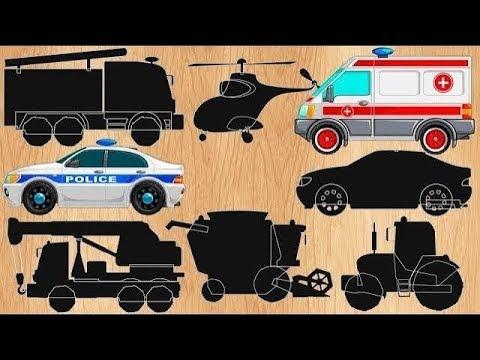 Машинки мультики 2020 года Полицейская машинка. Скорая помощь и другие машинки. Прямая трансляция